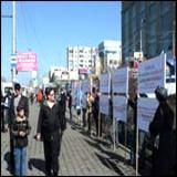 Пикет против прививок в Омске